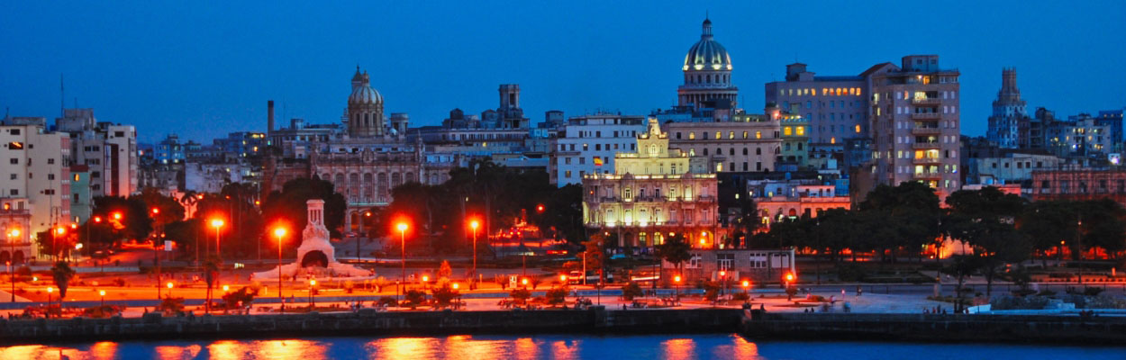Habana vieja de noche