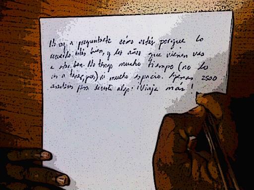 Carta a mismo
