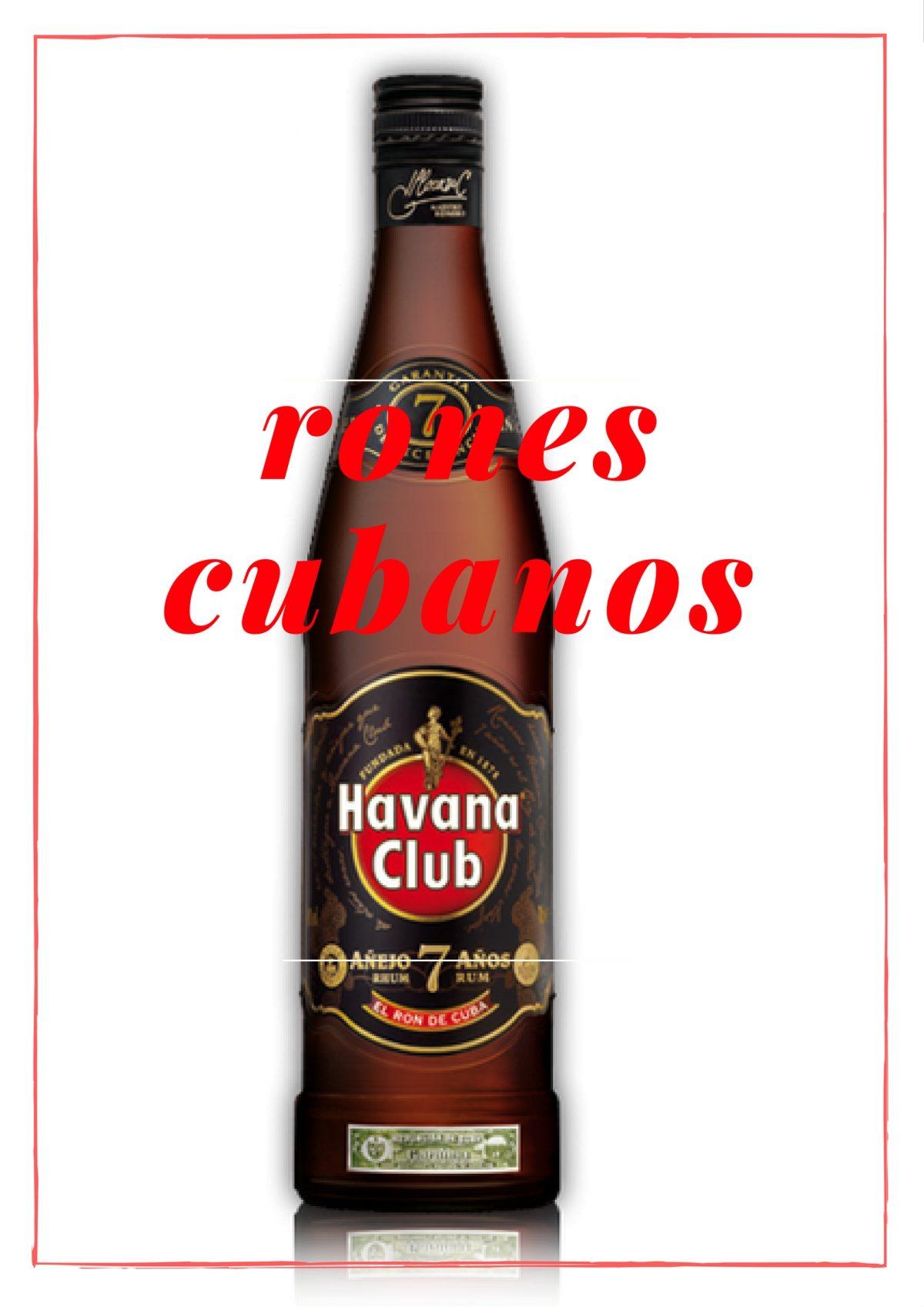 rones cubanos