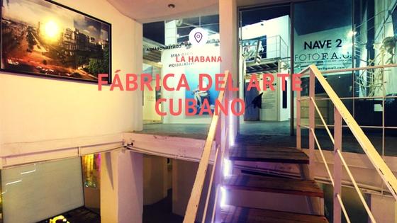 FÁBRICA DEL ARTE CUBANO